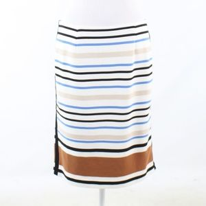 White House Black Market ivory pencil skirt 10